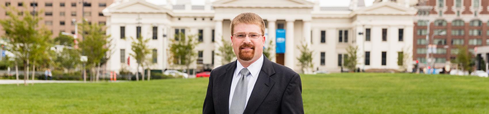 David Weber, Associate at Pitzer Snodgrass, P.C.