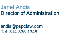 Janet Andis is Director of Administration at Pitzer Snodgrass, P.C.