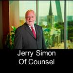 Jerry Simon, Principal at Pitzer Snodgrass, P.C.