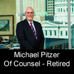Mike Pitzer, Of Counsel and Reired, Pitzer Snodgrass, P.C.