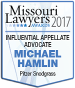 Missouri-Lawyers-Award-2017-Influential-Appellate-Advocate-Michael-Hamlin-bio-sm.fw