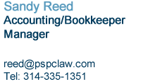 Sandy Reed Contact Information