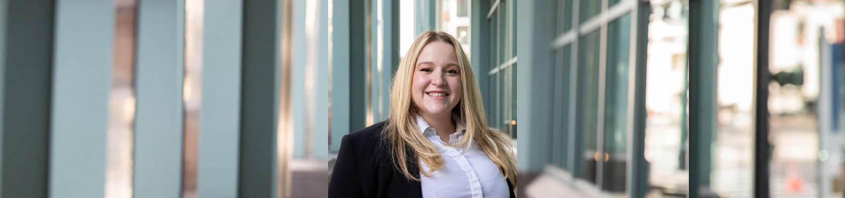Megan Atzert, Associate with Pitzer Snodgrass, P.C.