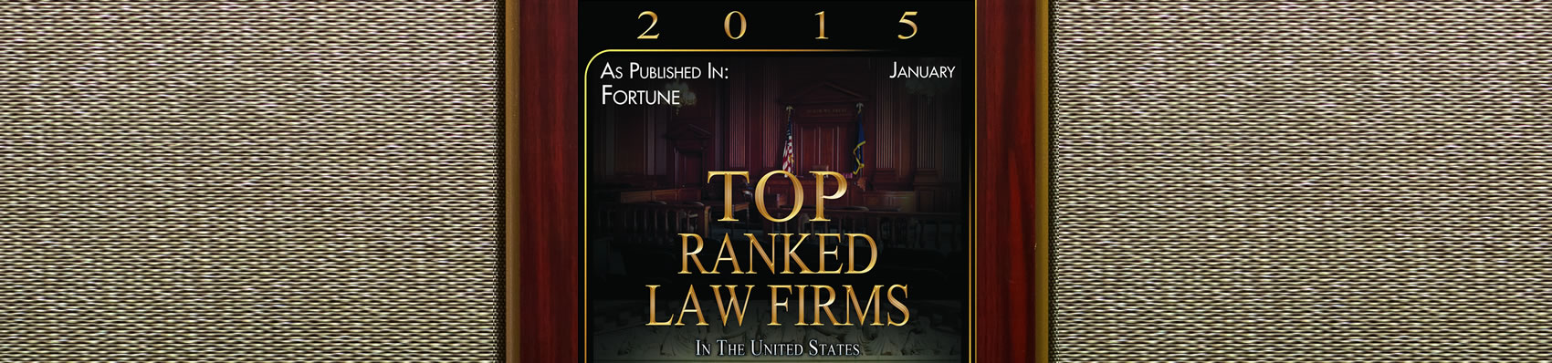 2015 Top Ranked Law Firm in US - Pitzer Snodgrass, P.C.
