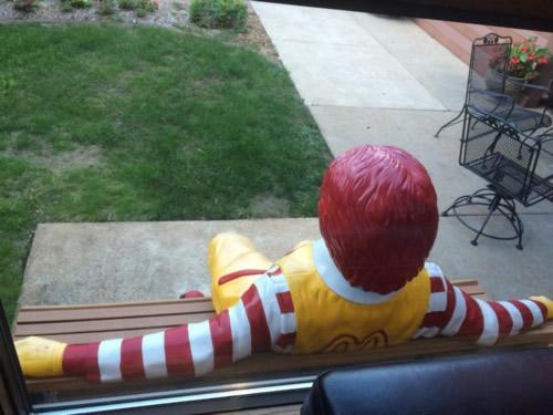 Entrance Patio to Ronald McDonald House St. Louis