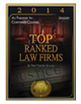 Pitzer Snodgrass P.C. Awarded 2014 Top Ranked Law Firms in U.S.